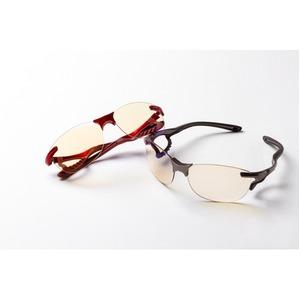 鼻でかけない薄い色のサングラス 「エアサイト」 グレー