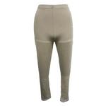 【しっとりインナー】裾レース付八分丈パンツ ベージュ Mサイズ 2枚セット