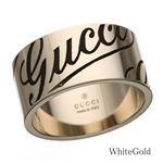 GUCCI(グッチ)リング 163172J8500 ホワイトゴールド 11号