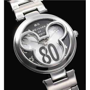 世界限定ミッキー誕生80周年記念時計(ホワイト&ブラック)
