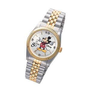 ミッキー生誕80周年記念ダイヤモンド腕時計 メンズ