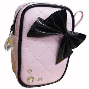 小物ポーチ ピンク リボンシリーズ 2個セット