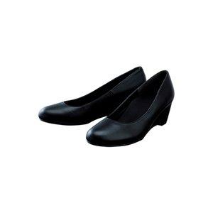 【足に優しいパンプス】フットスタジオパンプス 【ブラック】22.0cm