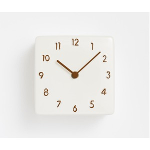 CHAMBRE CERAMIC CLOCK【BROWN】