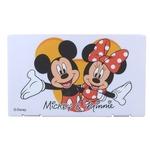 ディズニー マスクケース【ミッキー&ミニー】【ホワイト】【2個セット】