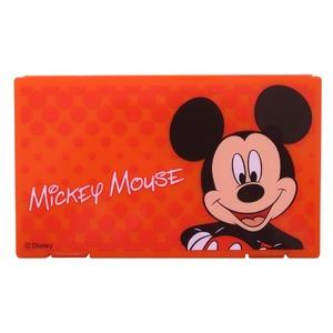 ディズニー マスクケース【ミッキーマウス】【レッド】【2個セット】