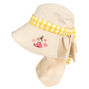 【保育士さん】ムーミン つば広帽子 ベージュ