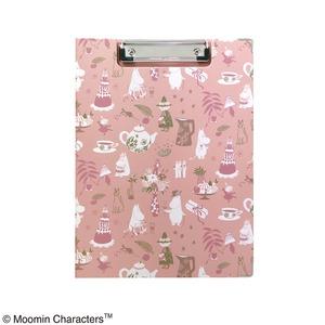 ムーミン クリップボード【同柄2個セット】【Party ピンク】