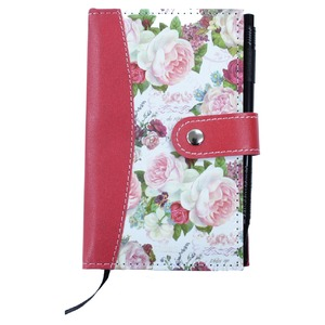 【バラ雑貨】ポケット手帳ローズポケットブック【5個セット】0170001set