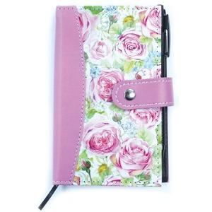 【バラ雑貨】ポケット手帳ローズポケットブック【5個セット】0170005set