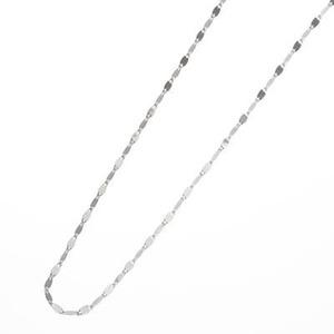 K18WGペタルスライドネックレス