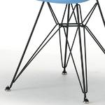 チャールズ&レイ・イームズデザイン FRPアームシェルチェア(エッフェルベース/ブルー×ブラック)