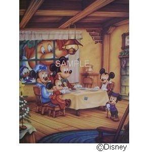 ディズニーアートポスター ミッキーのクリスマスキャロル