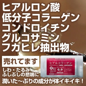 GW限定5/11まで!【10%OFF】SEAコラーゲン&ヒアルコラーゲン