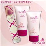 Pink Sugar(ピンクシュガー) ビューテフル レディ (香水/グロッシー シャワー ジェル/ボディーローション セット)