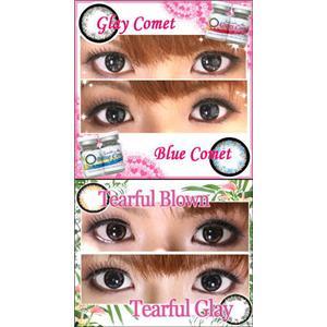 Twinkle Star & Angelic Eyes 全4色 カラコン・カラーコンタクト 2枚セット ブルーコメット