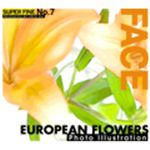 写真素材 SUPER FINE No.7 EUROPEAN FLOWERS  (洋風の花)
