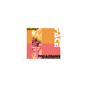写真素材 SUPER FINE No.8 PINK & ORANGE (ピンクとオレンジ色の花)