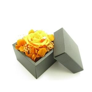 プリザーブドフラワーギフト「ジュエル」オレンジS