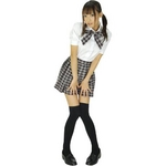 CG112 school girl 中等部 ブラック