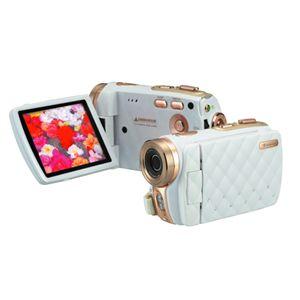 3.0型 TFTカラー液晶モニタ搭載 HD画質 デジタルビデオカメラ GHV-DV30HDLX ホワイト