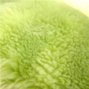 【均一価格】最高級極厚アクリルボア敷きパット シングル グリーン