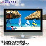 HYUNDAI 地上波デジタル放送対応 42型液晶テレビ E420D