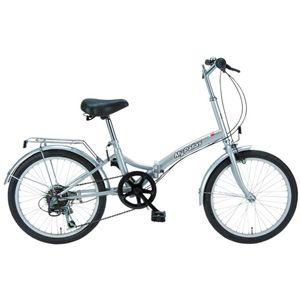 MYPALLAS(マイパラス) 折畳自転車20型6段 M-30S シルバー