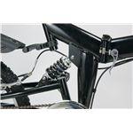 マイパラス M-10 折畳自転車20型・6SP・Wサス スタイリッシュブラック