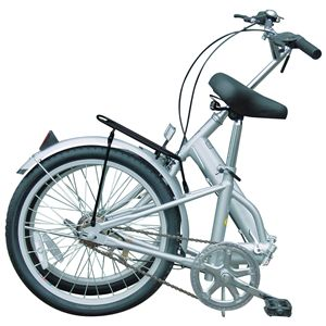 マイパラス M-27 折畳自転車20型 ブルー