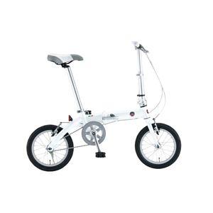 FIAT(フィアット) 折畳自転車 AL-FDB140 14インチ ホワイト
