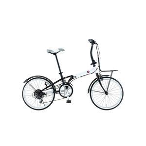 FIAT(フィアット) 折畳自転車 FDB206SK 20インチ ホワイト