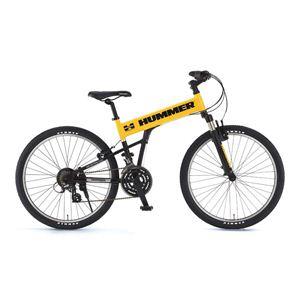 HUMMER(ハマー) 自転車 26インチ AL-ATB261 F-sus MB イエロー