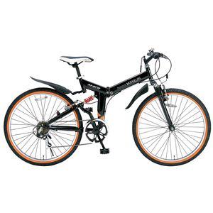 MYPALLAS(マイパラス) 折り畳み自転車 M-670 26インチ 6段変速Wサス ブラック