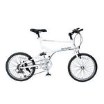 MYPALLAS(マイパラス) 自転車 S-サイクル 20インチ 6段変速 M-705 ホワイト