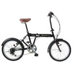 MYPALLAS(マイパラス) 折畳自転車 SC-07GR グリーン 20インチ 6段変速 リアサス