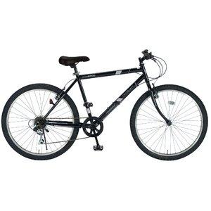 MYPALLAS(マイパラス) 自転車 26インチ 6段ギア M-610S ブラック (マウンテンバイク)