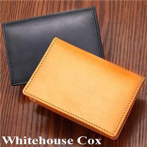 Whitehouse Cox(ホワイトハウスコックス)  Bridle Leather 名刺入れ S7412 NEWTON