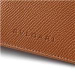 BVLGARI(ブルガリ) フォトウィンドウ付札入れ Classico line Walley for 3 credit cards & Photos AMBER/22476