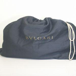 BVLGARI(ブルガリ)# 23850 Twist bag Original shape Extreme deer black/G.