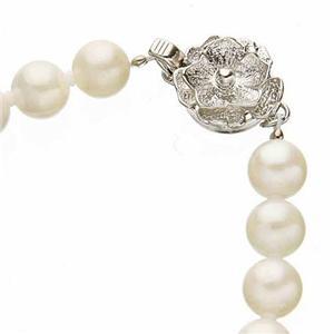 あこや本真珠 6.5-7mm 2点セット(真珠ネックレス1点、ぶら下がりイヤリング1点1点計2点セット)