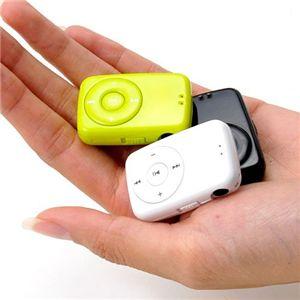 f'piedi  MP3オーディオプレーヤー Cookie 1GB ブラック