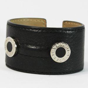 BVLGARI/ブルガリ # 23518 Cuff bracelet Large Twist deer black /P.
