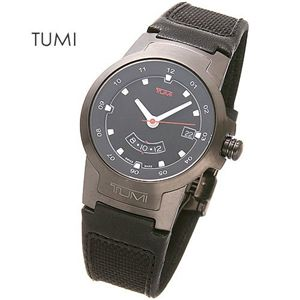 TUMI(トゥミー)I ブラックベルトウォッチ