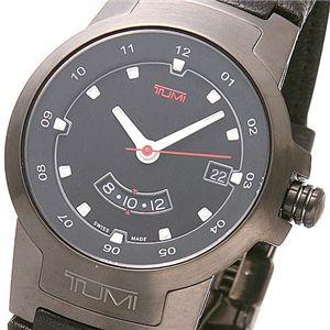TUMI(トゥミー)I ブラックベルトウォッチ 014526BLT