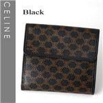 CELINE(セリーヌ) Wホック財布 102723-7 ブラック