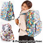 B Free for LeSportsac バックパック SLEEPAWAY BACKPACK 8755/3828 GoodTimes