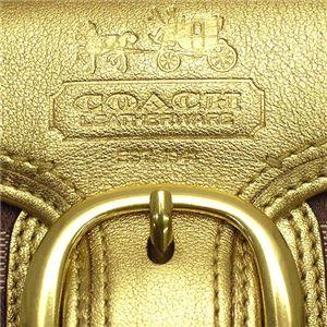 835b77425fe9 COACH(コーチ) 人気ラインが2型も☆長財布 ブリーカー Gold