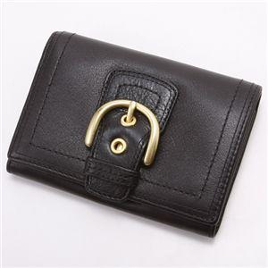COACH(コーチ) ダブルホック財布 41261・中 Black