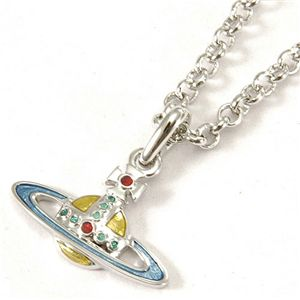 Vivienne Westwood(ヴィヴィアンウエストウッド) ネックレス Diamante Heart/Enamel Orb 166 131 001・Multi